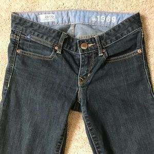 Gap 1969 Always Skinny jeans size 24/00 regular